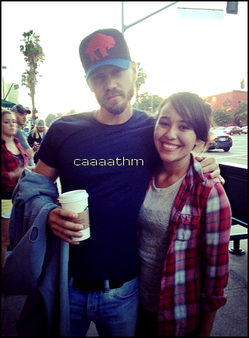 • Instagram + Photo Avec Fans ►  Le 04 Août 2013 - Photo De Chad + Avec Une Fan