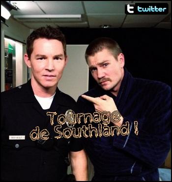• Tournage ►  Le 13 Décembre 2012 - Southland épisode n°2