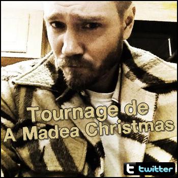 • Twitter ►  Le 14 Janvier 2013 - 1er jour de Madea Christmas