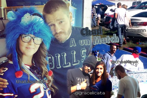 • Photos Avec Les Fans ►  Le 08 Septembre 2013 - Au Match des Bills