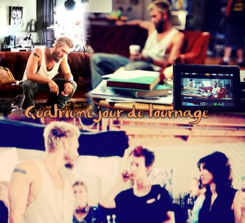 • Tournage ►  Le 19 Juin 2013 - Photo Instagram + Tournage