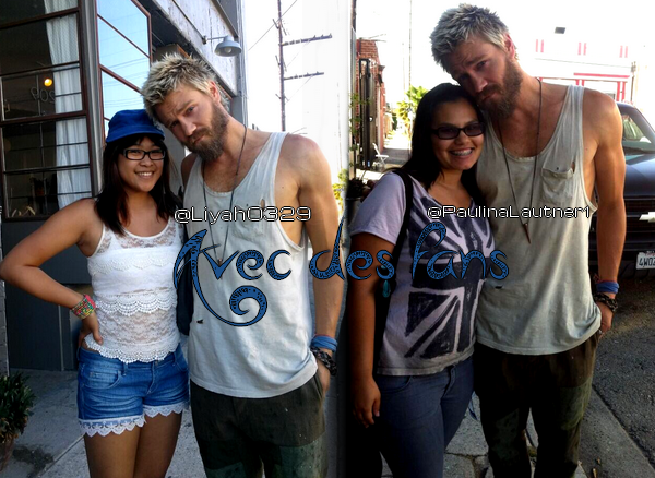 • Tournage ►  Le 21 Juin 2013 - Other People's Children + fans