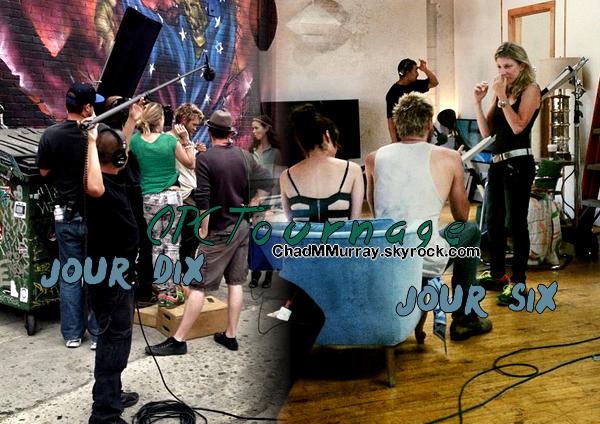 • Apparitions ►  Le 22-23 & 26 Juin 2013 - Tournage de son film