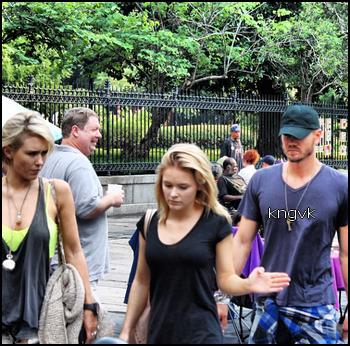 • Photo De Fan ►  Le 31 Octobre 2013 - Chad & Nicky A La Nouvelle Orléans