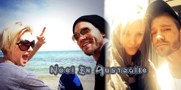 • Twitter ►  Le 25 Décembre 2013 - Chad & Nicky Passent Noël En Australie