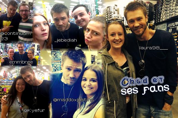 • Photos Avec Les Fans ►  Le 27 Décembre 2013 - Chad Et Des Fans à Frankston