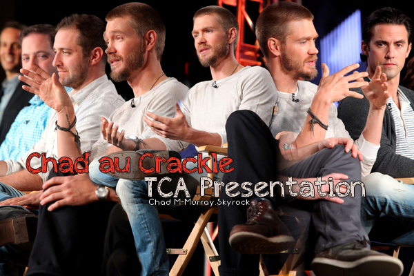 • Apparitions ►  Le 12 Janvier 2014 - Crackle TCA Presentation