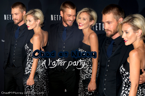 • Apparitions ►  Le 12 Janvier 2014 - Weinstein Company Golden Globe Awards - After Party