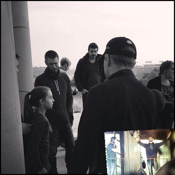 • Tournage ►  Le 23 Janvier 2014 - Chad & Caitlin Répètent