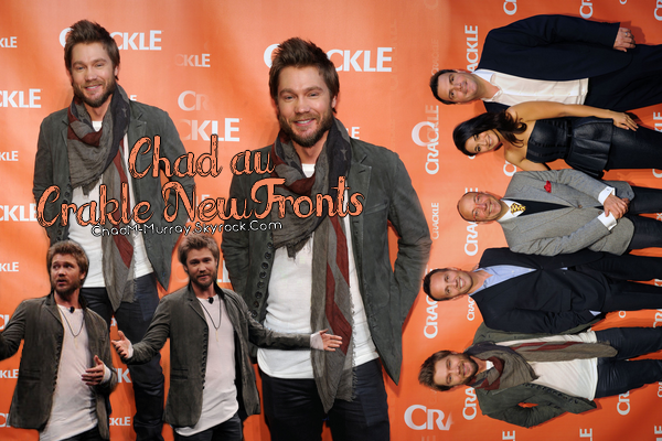 • Apparitions ►  Le 30 Avril 2014 - Chad Au Crackle NewFronts