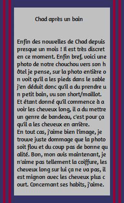 • Photos Avec Les Fans ►  Le 09 Août 2014 - Chad Et Des Fans A Durango