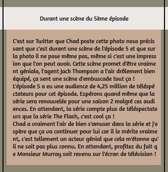 • Twitter ►  Le 04 Février 2015 - Durant Une Scène De L'Episode 5