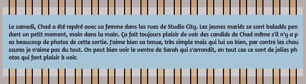 • Candids ►  Le 14 Mars 2015 - Balade Dans Studio City Pour Chad & Sarah