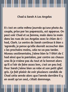 • Candids + Photo De Fans ►  Le 05 Avril 2015 - Chad & Sarah A Los Angeles