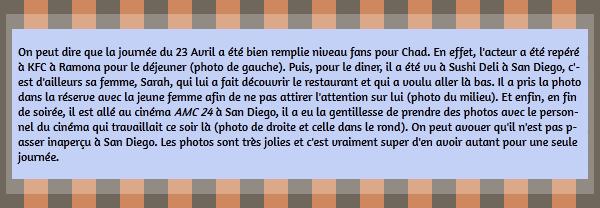 • Photos Avec Les Fans ►  Le 23 Avril 2015 - Chad Avec Ses Fans
