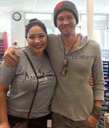 • Photos Avec Les Fans ►  Le 24 Avril 2015 - Avril, 24 - A Coronada, San Diego, Californie