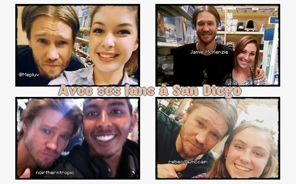 • Photos Avec Les Fans ►  Le 10 Mai 2015 - Dans Une Animalerie à San Diego