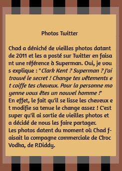 • Twitter ►  Le 11 Juillet 2015 - Vieilles Photos et Référence à Superman