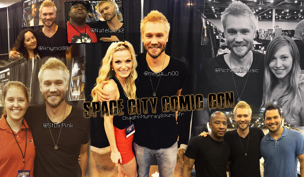 • Apparitions ►  Le 25 Juillet 2015 - Au Space City Comic Con - Jour 1  Apparitions | Photos Avec Les Fans