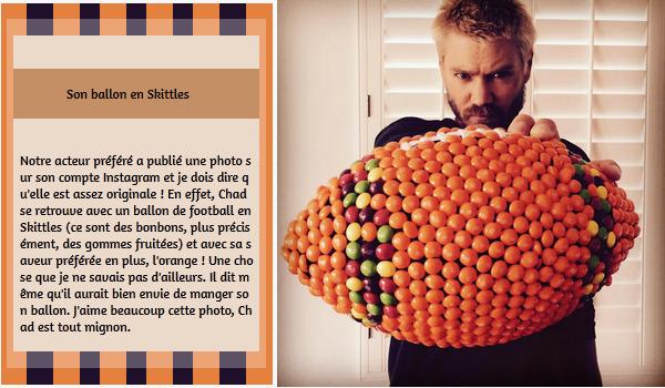 • Photos Avec Les Fans + Instagram ►  Le 27 Juillet 2015 - Chad avec Des Fans et Son Ballons de Skittles  Instagram | Photos Avec Les Fans