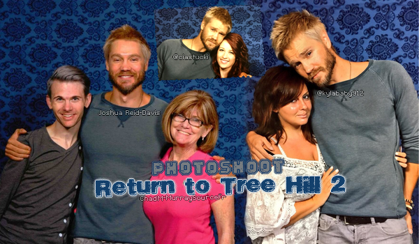 "• Apparitions ►  Le 09 Août 2015 - Convention ""Return To Tree Hill 2"" à Wilmington  Apparitions 
