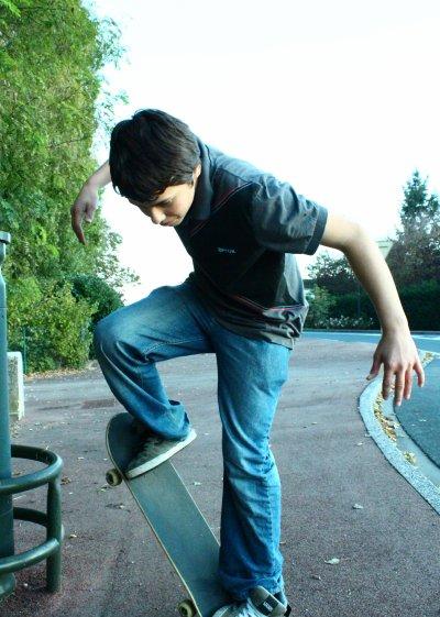 le skate et moi x_x un bohneur