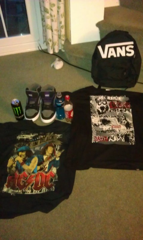 Mes achats d'Anglettere