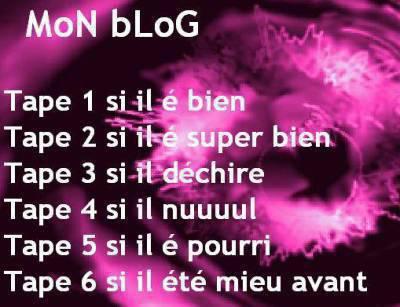 commen tu trouve mon blog