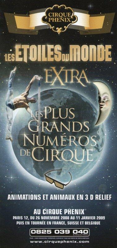 Flyers Cirque PHENIX