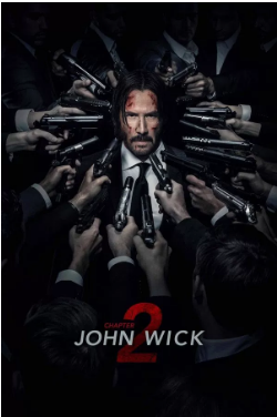 John Wick: Chapter 2 (2017) Keanu Reeves Common Laurence Fishburne Watch