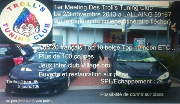 1er meeting des troll tuning club