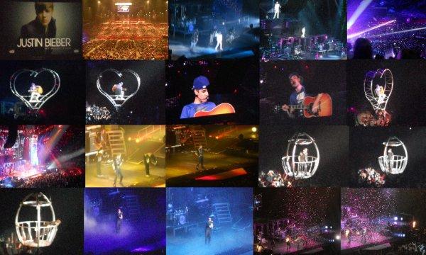 Concert : Justin Bieber , 29 Mars 2011 , Paris Bercy