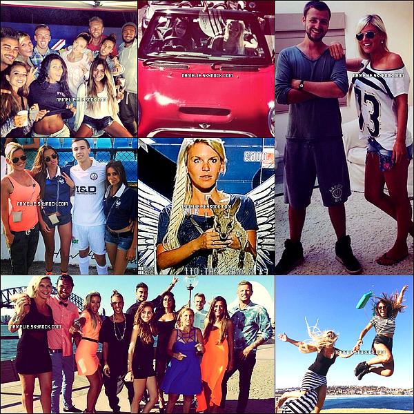-        15/03- Voici quelque photos deAmélie&plusieurs autres candidats des Anges.            - Le tournage des anges en Australie à pris fin le13Mars. -