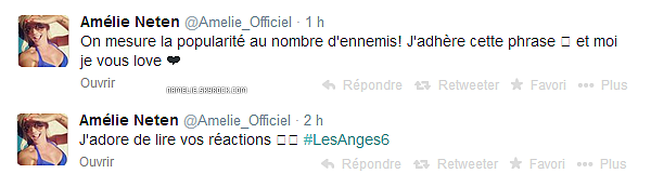 - - 19/03 - Quelque photos inédite d'Amélie & les Anges+ une photos poster par Amélieest son BB Hugo. -