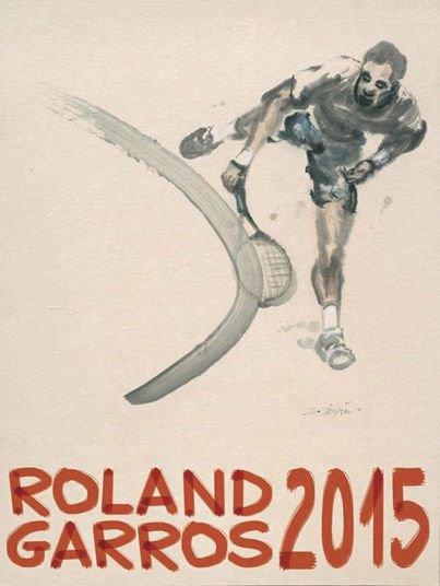 Affiche pour Roland Garros dévoilé