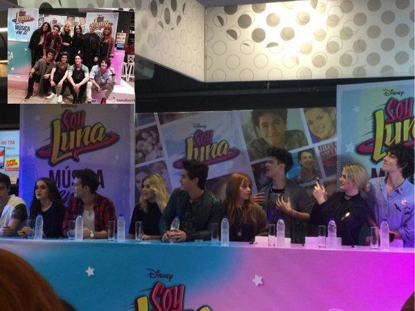 Soy Luna - dédicasse du cast le 26 août 2016 à Buenos Aires