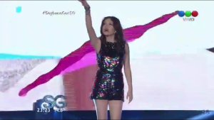 Soy Luna - le cast dans l'émission de Susana Gimenez en Argentine le 25 septembre 2016