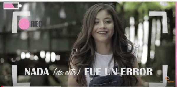 Youtube - Karol Sevilla | #BackstageNadaFueUnError