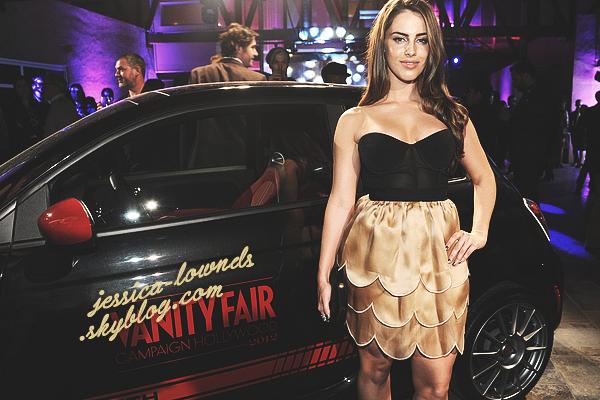 _ 25/02/2012 : Jessica était présente lors de l'évènement Vanity Fair soirée DJ avec l'Oréal Paris et Fiat. TOP !_