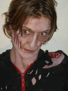 Maquillage effet spéciaux : Zombie
