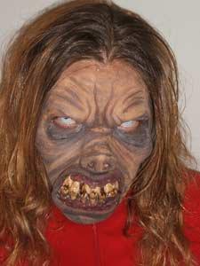 Maquillage de monstre n°1