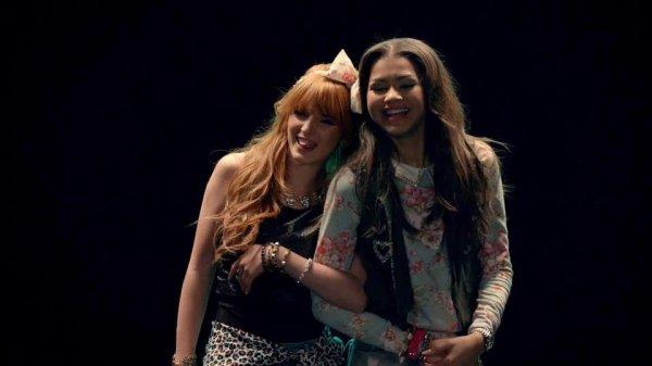 """image de cece et rocky dans leur magnifique clip """"contagious love"""""""