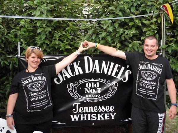 Moi et mon homme en mode Jack Daniel's