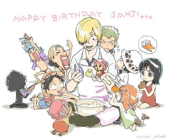Happy Birthday Sanji ♥