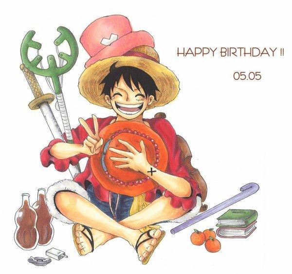 Happy Birthday Luffy-chan ♥