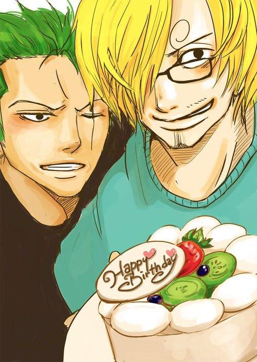 Happy Birthday One Piece - Yaoi Sekai  ♥