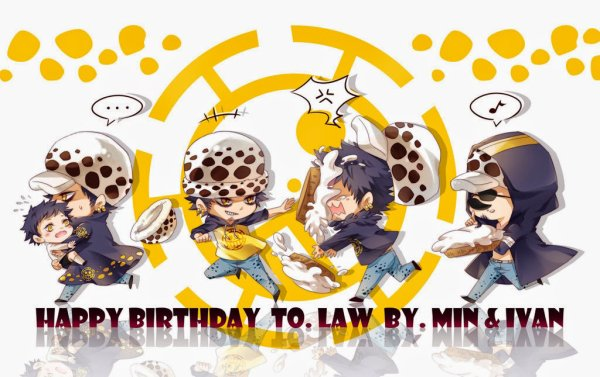 Happy birthday Law *-* ♥