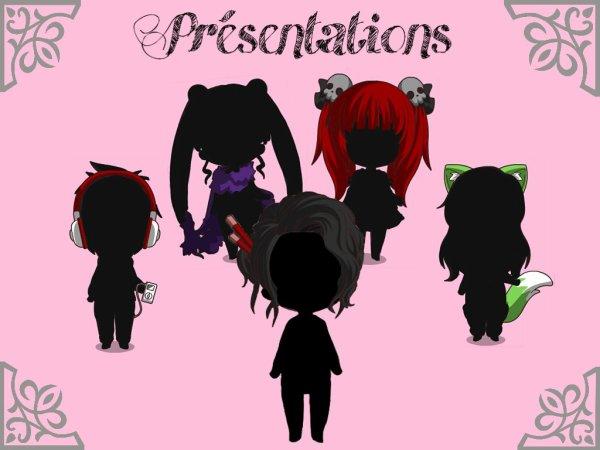 Présentations ! ♥
