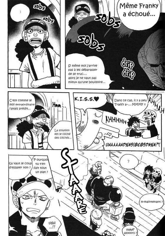 Doujinshi : Pirate alliance Diary - PART 3