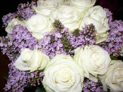 magnifique bouquet de fleur bonjour tous. Black Bedroom Furniture Sets. Home Design Ideas